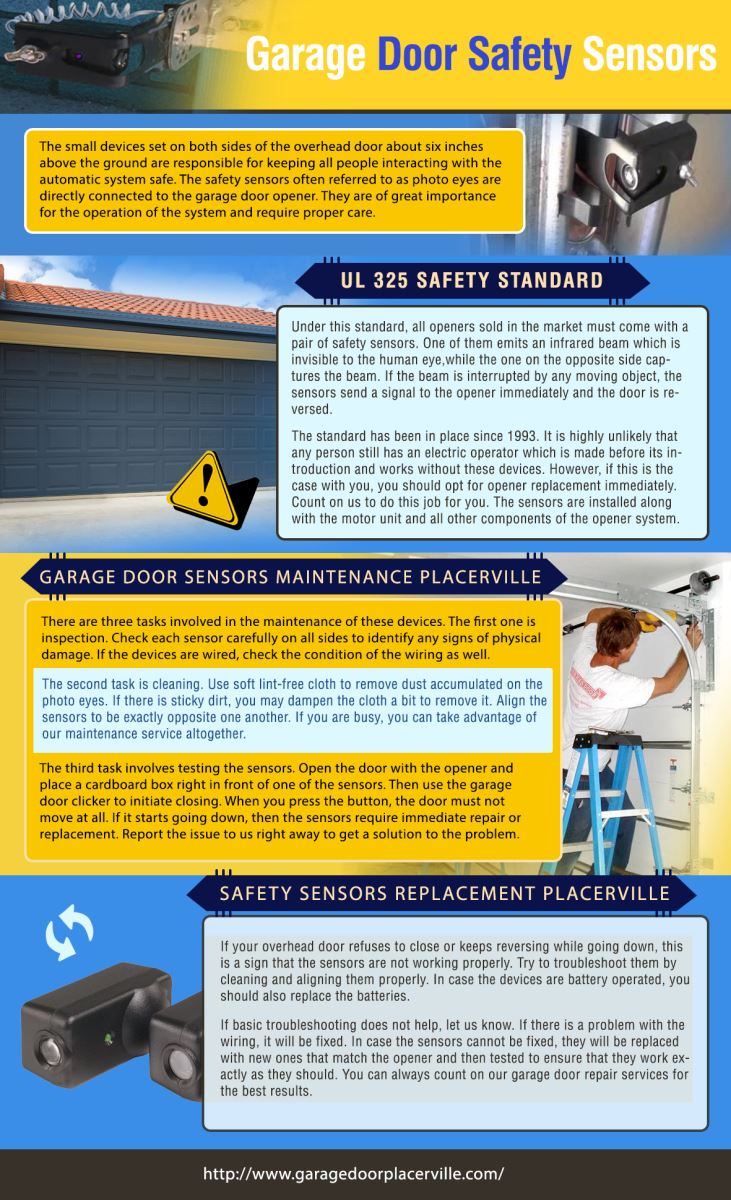 Garage Door Repair Placerville Infographic